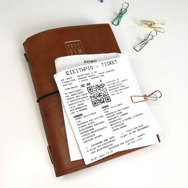 TRAVEL SLIM | le carnet cuir ultra-pocket